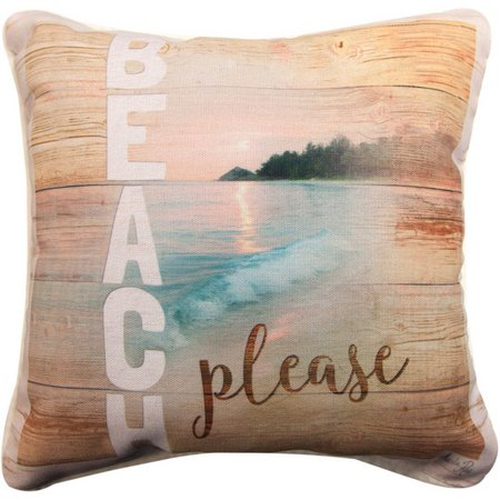 Manual Woodworkers Beach Please Pillow