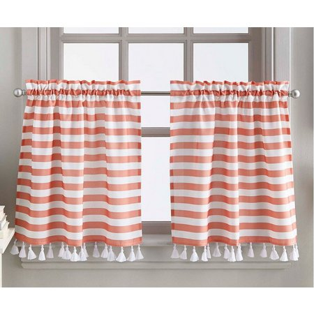 CHF 2-pc. Charlotte Stripe Window Tier