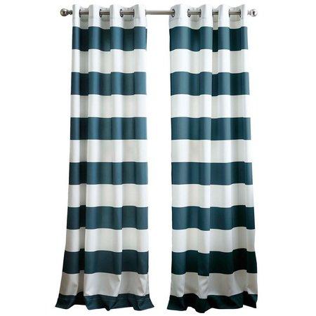 CHF Horizontal Midweight Rod Pocket Curtain Panel