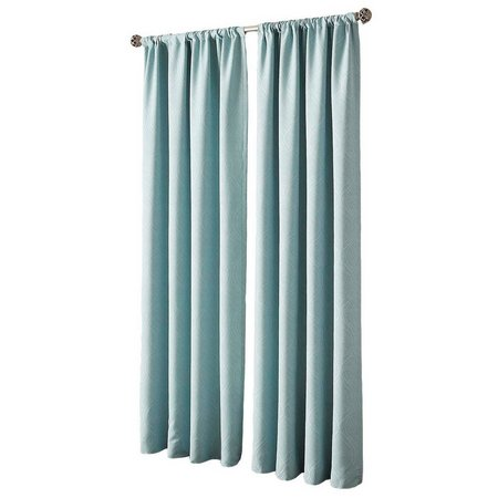 CHF Pixel Wave Rod Pocket Curtain Panel