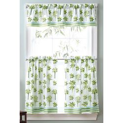 CHF Palm Trees 3-pc. Window Valance Set