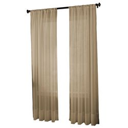 CHF Tribeca Voile Sheer Curtain Panel
