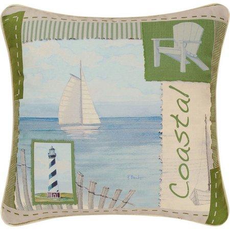C & F Enterprises Coastal Decorative Pillow