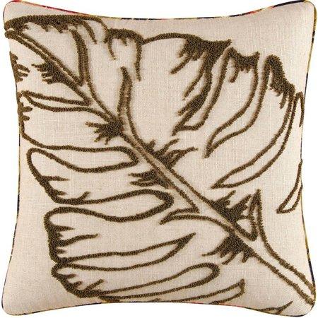 C & F Enterprises Green Leaf Tuft Wool