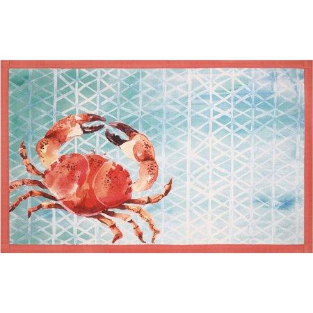 Devgiri Crab Accent Rug
