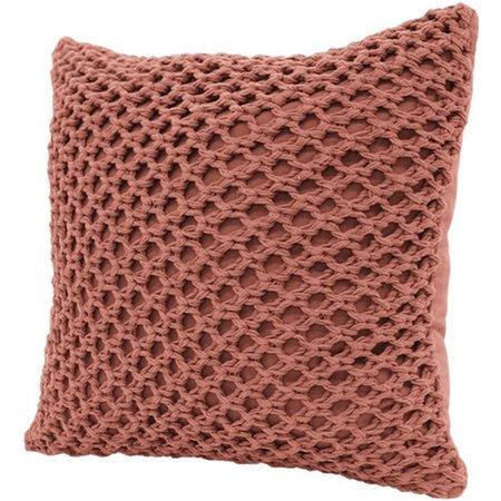 Dream Home Megan Crochet Decorative Pillow