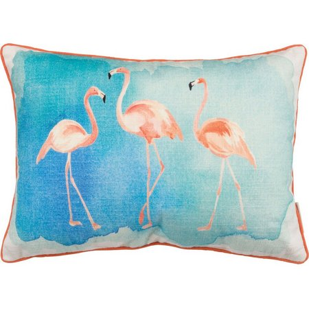 Primitives By Kathy Flamingo Decorative Pillow