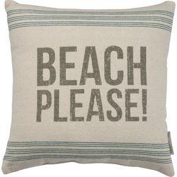 Primitives By Kathy Beach Please Decorative Pillow