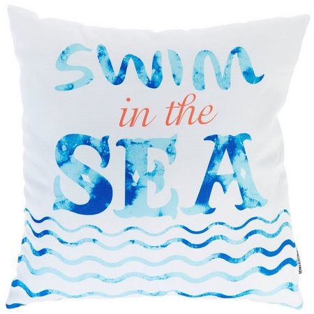 Homewear Swim In The Sea Decorative Pillow