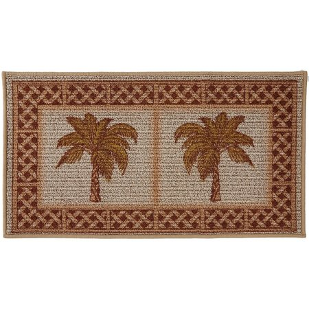 Bacova Rattan Double Palm Berber Loop Rug
