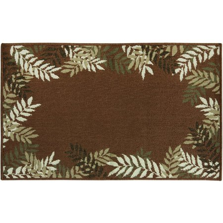 Bacova Cotton Elegance Jade Palm 28'' Accent Rug