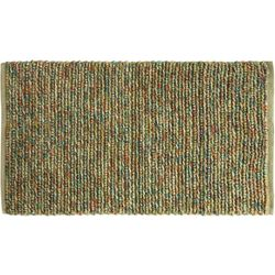 Bacova Jute Woven Bright Rainbow Accent Rug