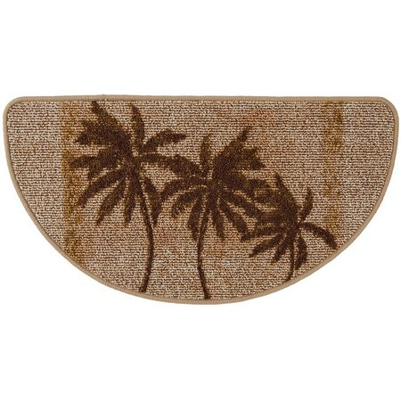 Bacova Paradise Palm Berber Loop Slice Mat
