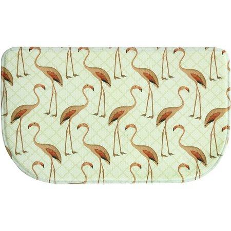 Bacova Floridian Flamingo Slice Mat