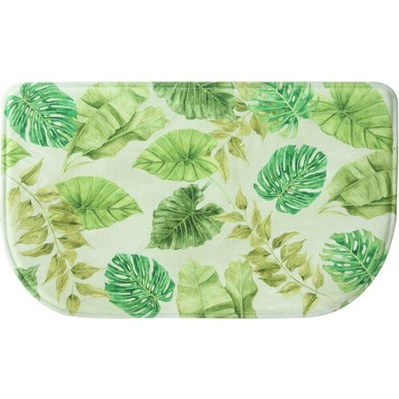 Bacova Tropical Leaves Slice Mat