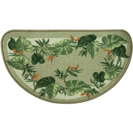 Bacova Tropical Palm Slice Rug