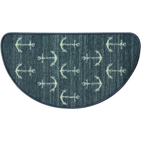 Bacova Ahoy Navy Slice Rug