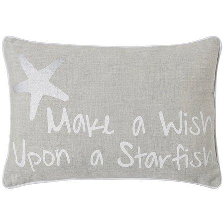 Jinda Home Fashions Make A Wish Decorative Pillow