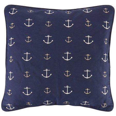 Home Fashion Newport Navy Decorative Pillow