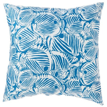 Home Fashion Edith Angel Fish Decorative Pillow