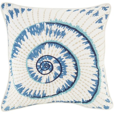 Home Fashion Bali White Spa Decorative Pillow