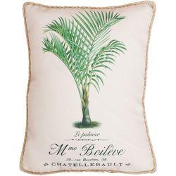 New! Thro Le Palmier Decorative Pillow