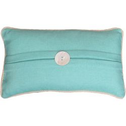 Thro Kate Button Square Decorative Pillow