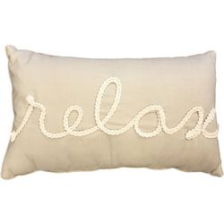 Thro Thea Relax Decorative Pillow