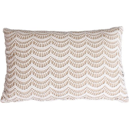 Thro Branwen Lace Decorative Pillow