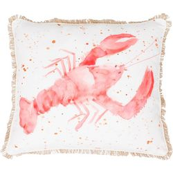 Thro Lorenzo Lobster Decorative Pillow