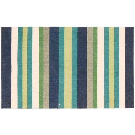 Waverly Stripe Flatweave Accent Rug