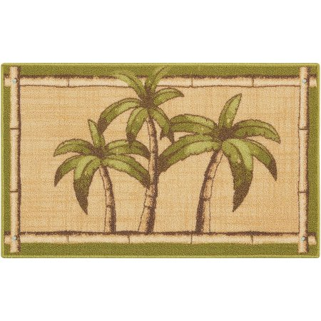 Nourison Palm Trees With Bamboo Accent Rug