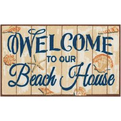 Nourison Welcome To Our Beach House Accent Rug