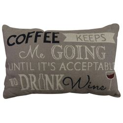 VINTAGE HOUSE Coffeebean Decorative Pillow