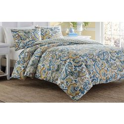 Stone Cottage Tuscany Blue 3-pc. Comforter Set