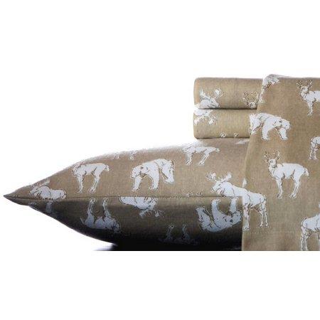 Eddie Bauer Buckhead Ridge Flannel Queen Sheet Set