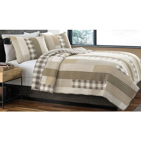 Eddie Bauer Fairview Saddle Quilt Set