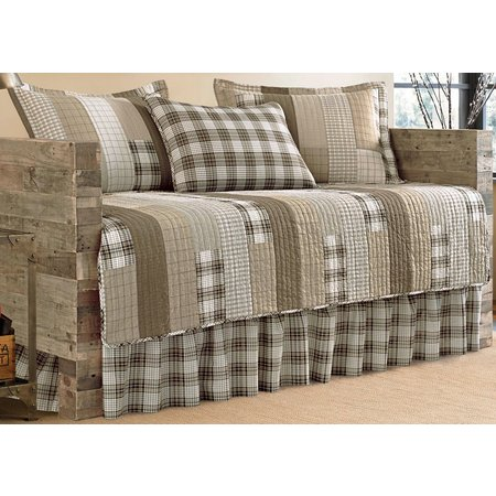Eddie Bauer Fairview Saddle Daybed Quilt Set