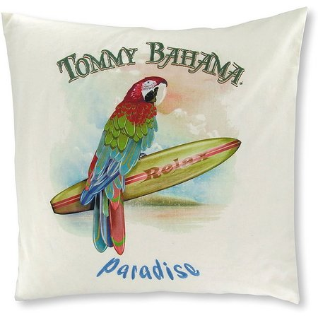 Tommy Bahama Parrot Paradise 18'' Square Pillow