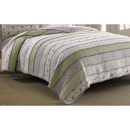 Laura Ashley Lavinia Collection Twin Quilt