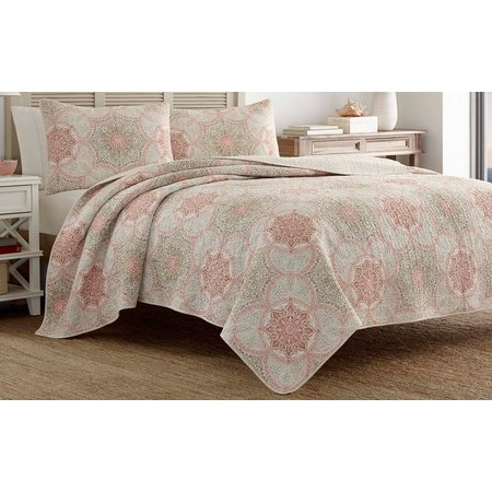 Tommy Bahama Palm Channel Quilt Set