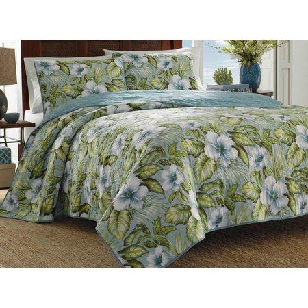 Tommy Bahama Alba Botanical Quilt Set