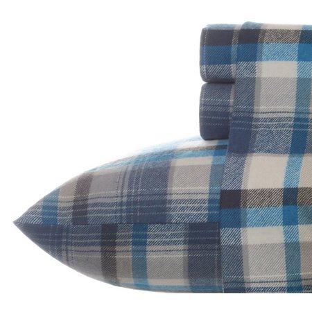 Eddie Bauer Spencer Plaid Flannel King Sheet Set