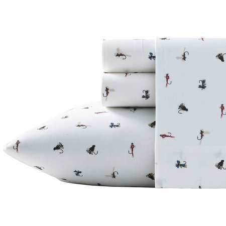 Eddie Bauer Fishing Flies Sheet Set