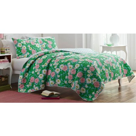 Poppy & Fritz Poppy Garden Quilt Set