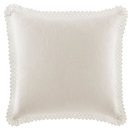 Laura Ashley Crochet Collection Euro Sham
