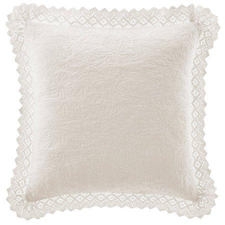 Laura Ashley Crochet Collection Decorative Pillow