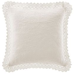 Laura Ashley Crochet Collection Decorative Pillow