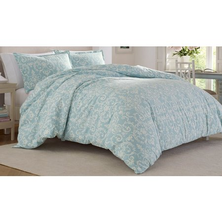 Laura Ashley Kensington Scroll Comforter Set