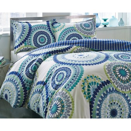 City Scene Radius Twin Duvet Set